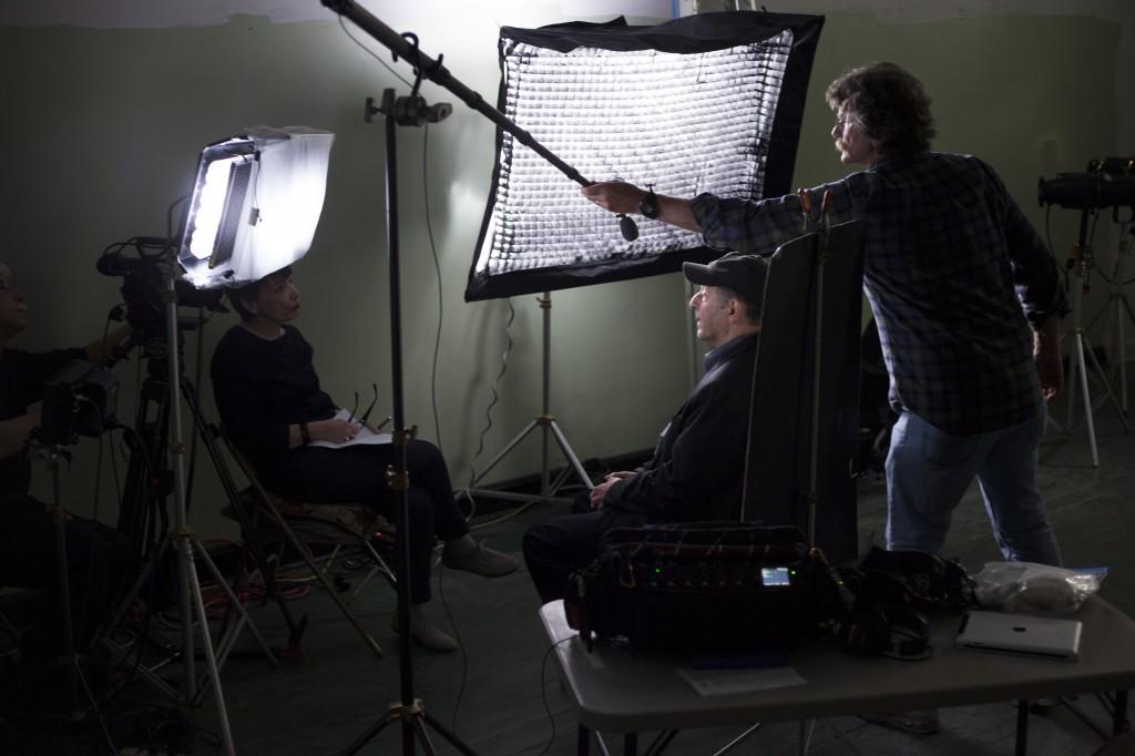 Steve Reich being interviewed by Sara Fishko.