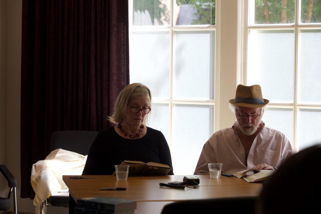 Jane Holding and Allan Gurganus